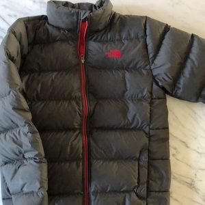 Boys the north face down jacket